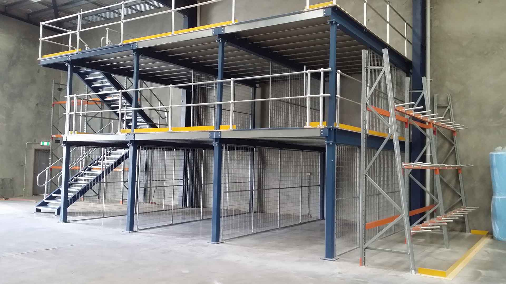 Warehouse Mezzanine Floor Racking Bari Engineering