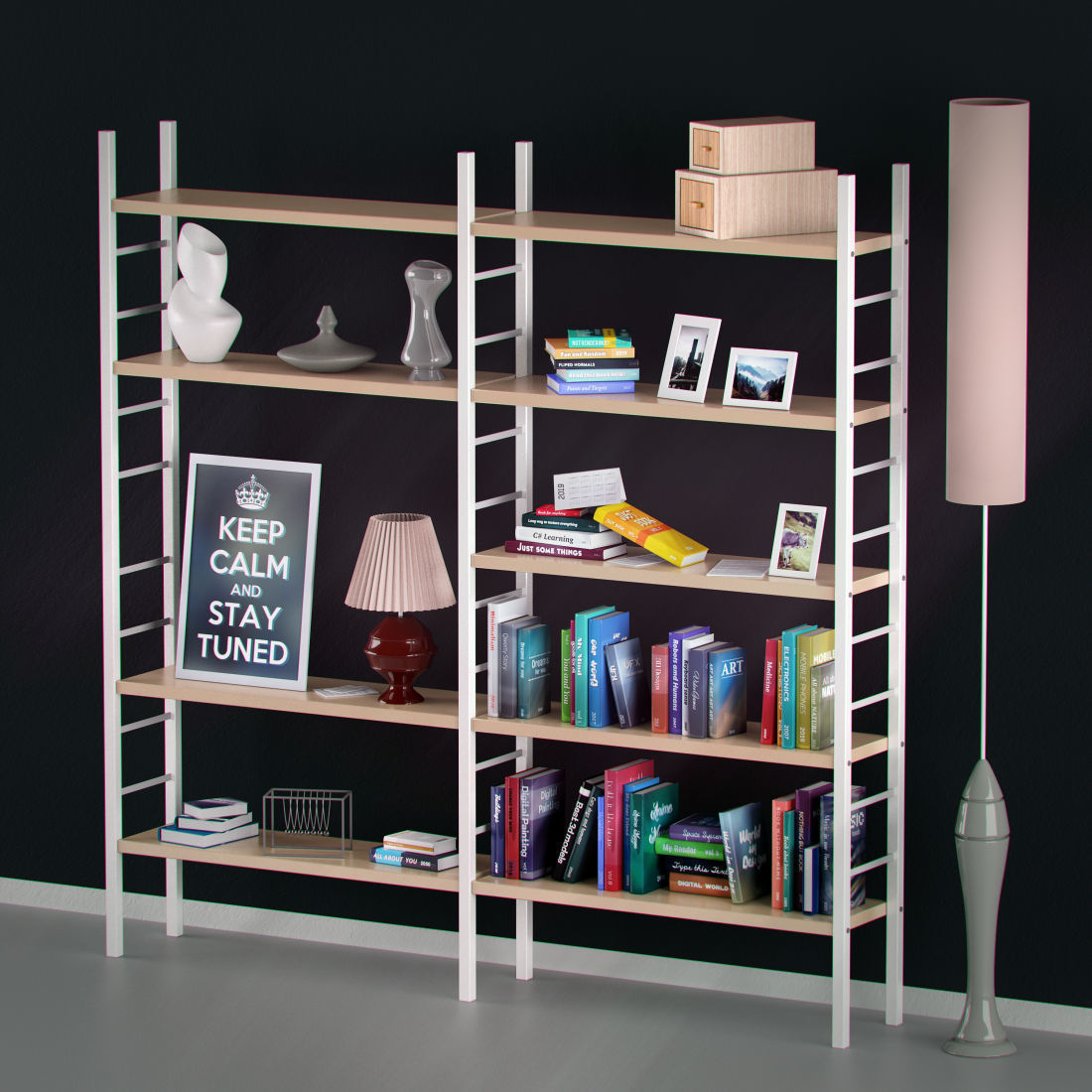 Book Shelf Racks,Office Bookcase and Wall Book Shelf | Bari