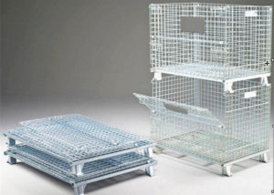 Heavy Duty Collapsible Cage Pallets