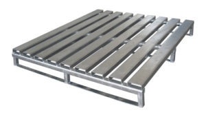A sample of Steel Pallets and pallet racking