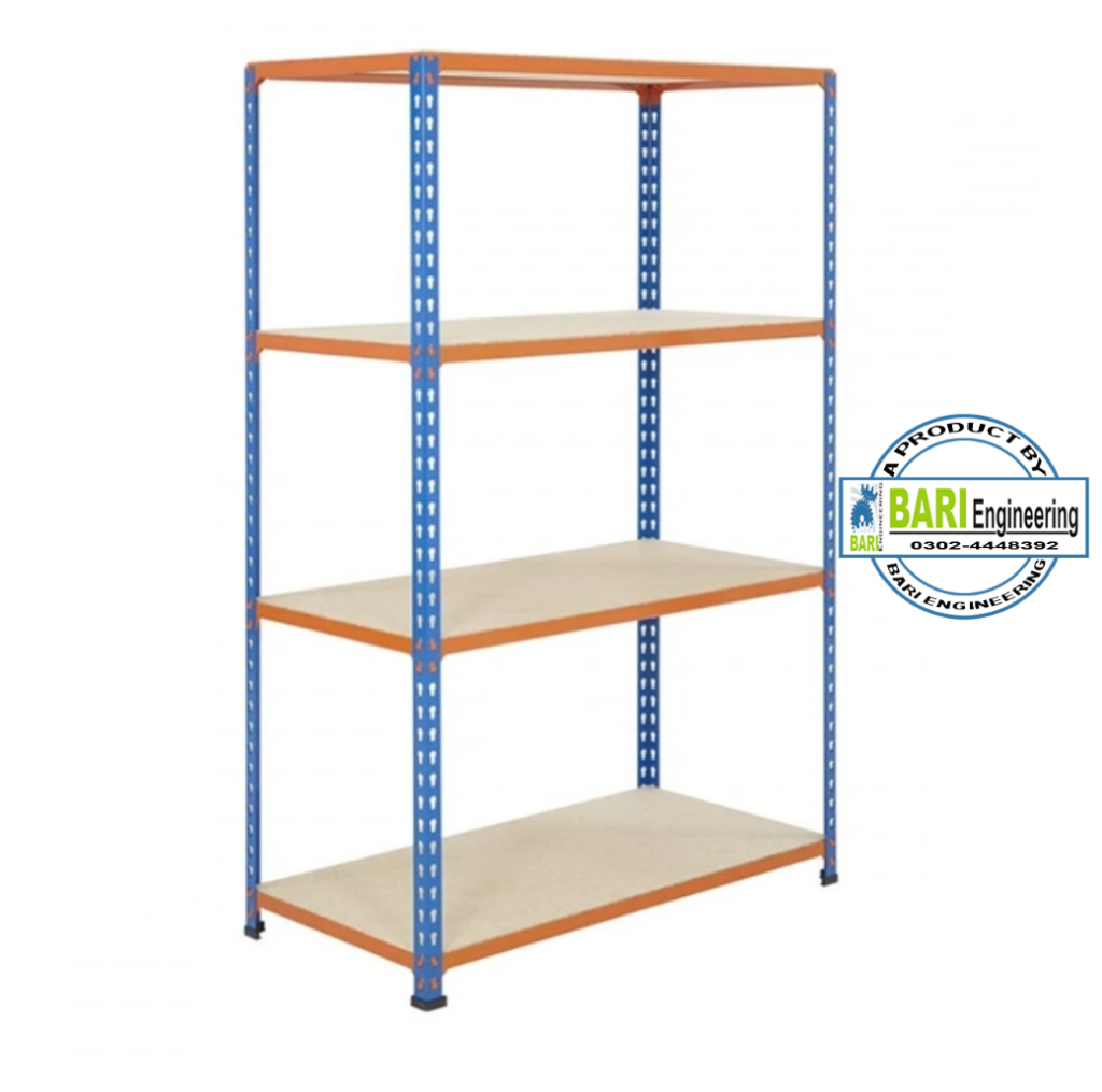 slotted angle bari steel rack